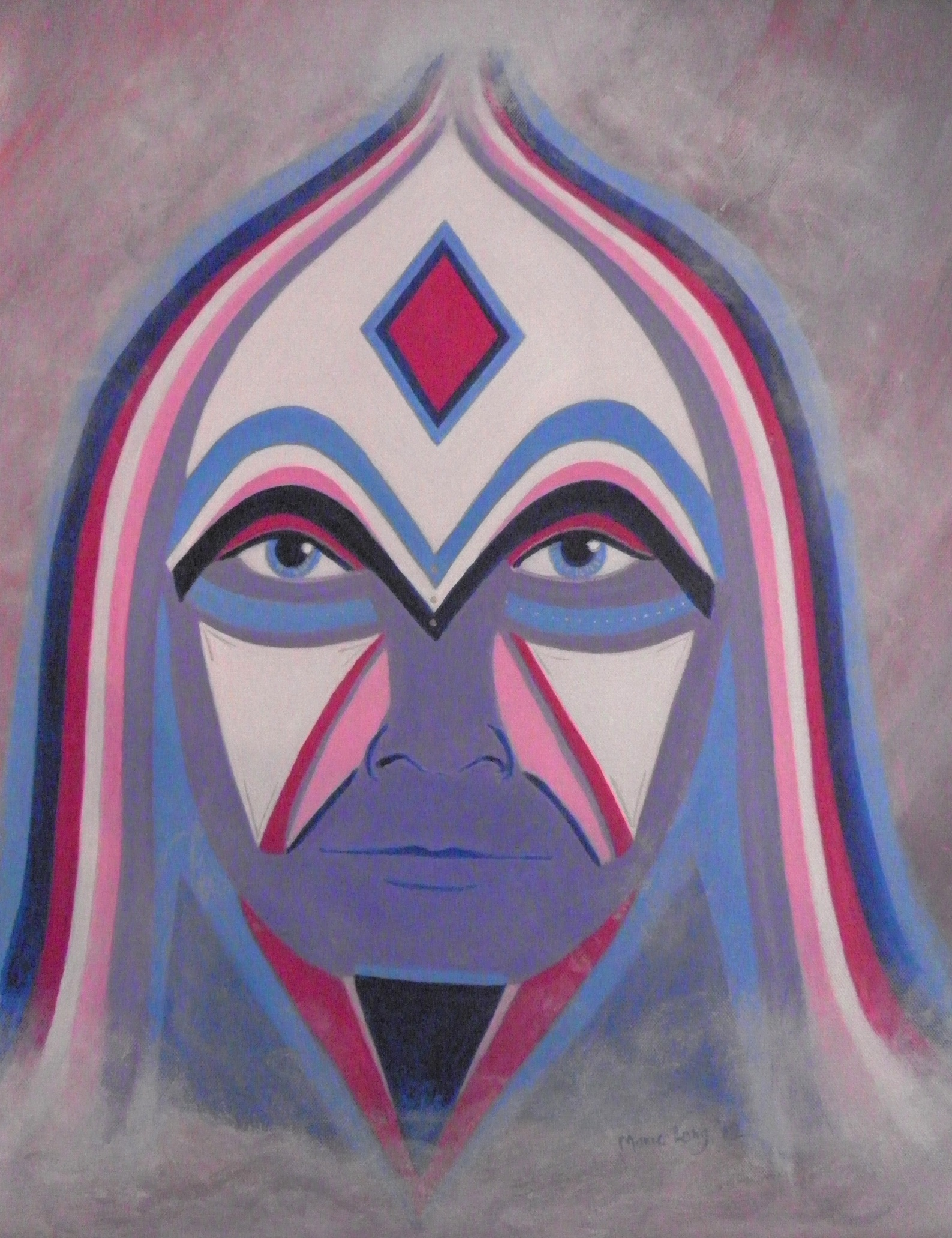 Ascended Master, Acrylics