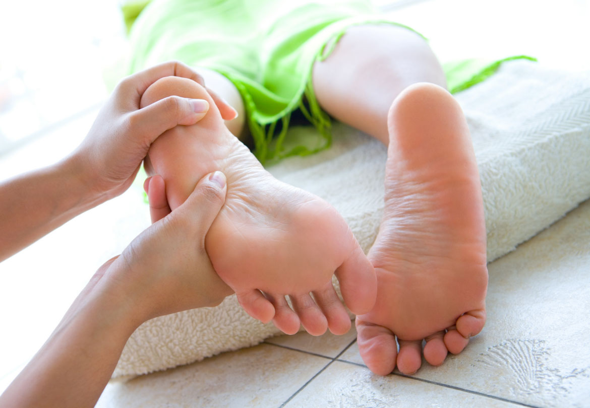 Reflexology – more than just a foot massage?